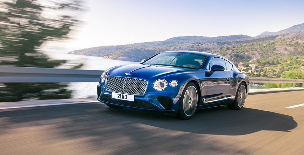 Bentley تحصد جائزتين عالميتين جديدتين
