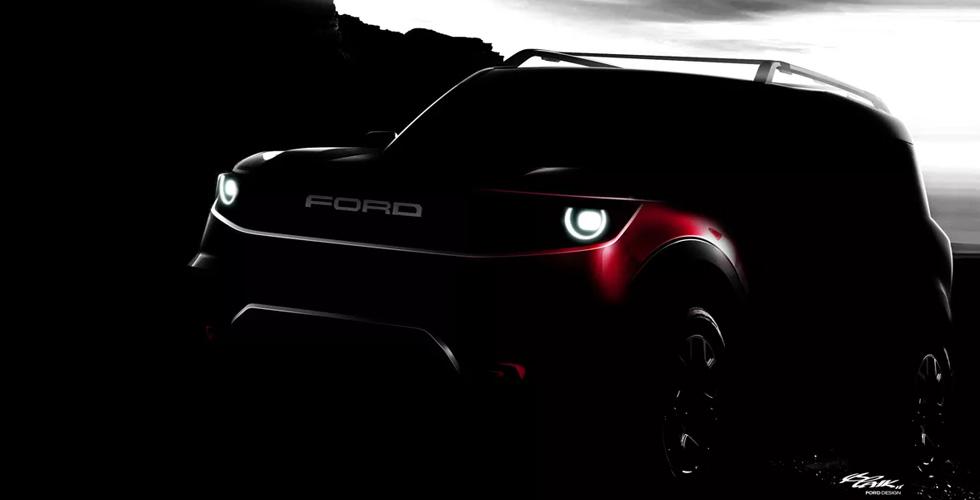 الصّور الأولى لفورد Baby Bronco 2020