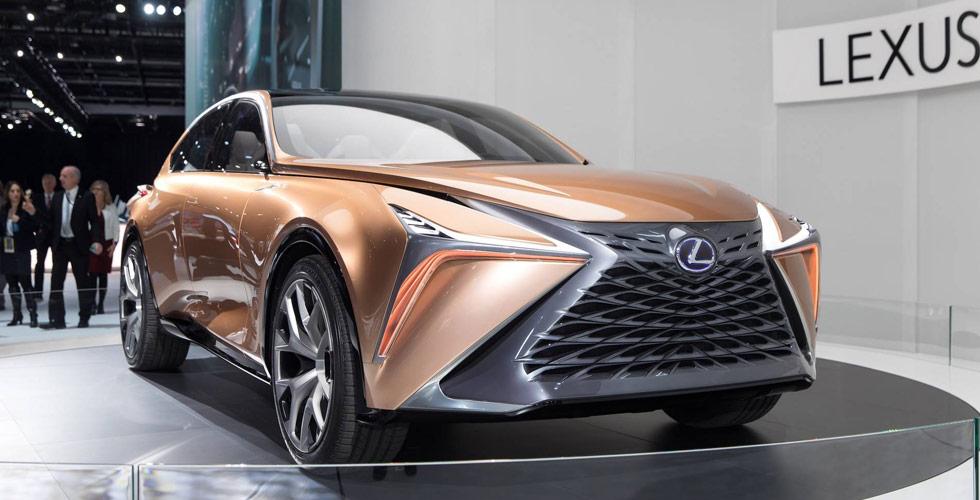 Lexus  تحاول التفوّق الأكيد