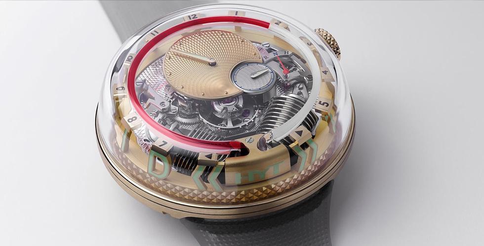 ساعة جديدة من شركة HYT