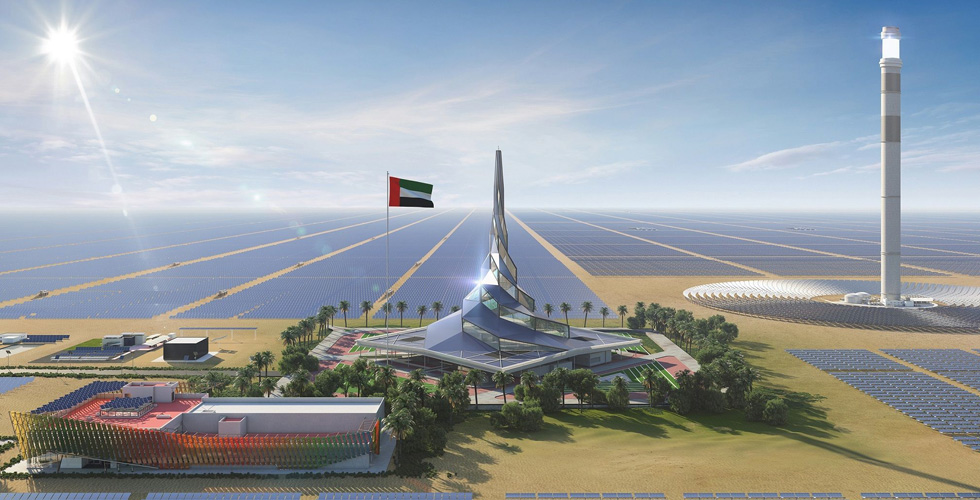 المرحلة الخامسة انطلقت..دبي وأحدث تقنيات الطاقة الشمسية