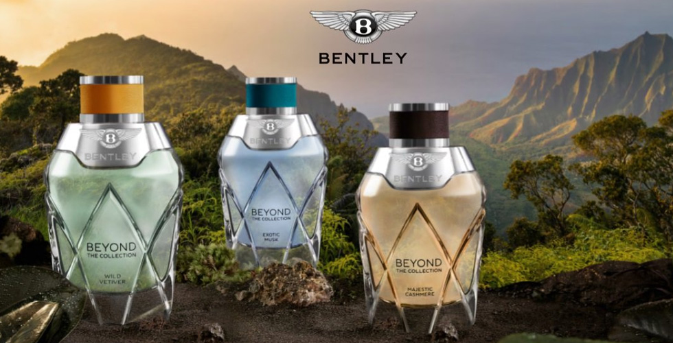 بنتلي تطلق عطر Bentley Beyond