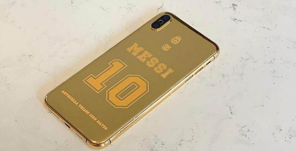لـLeo Messi هاتف iPhone XS Max بـ21000$