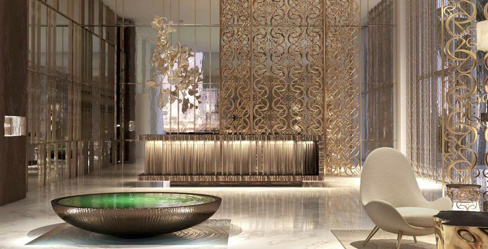 تصميمات إيلي صعب لملكيّة إعمار على شاطئ دبي