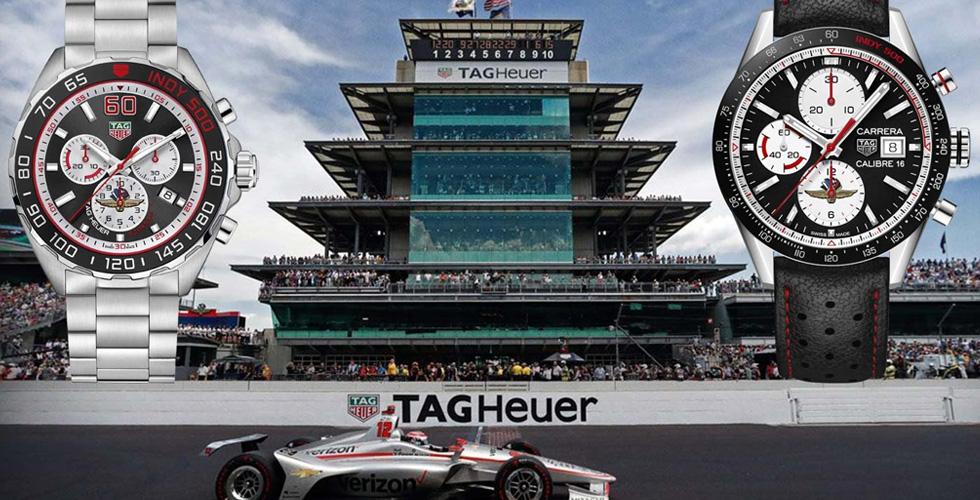 شغف السباقات يجمع بين TAG Heuer و Indianapolis 500