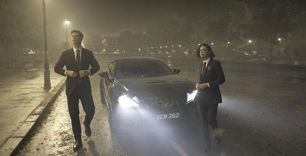 Men in Black يعود ومعه Lexus خارقة!