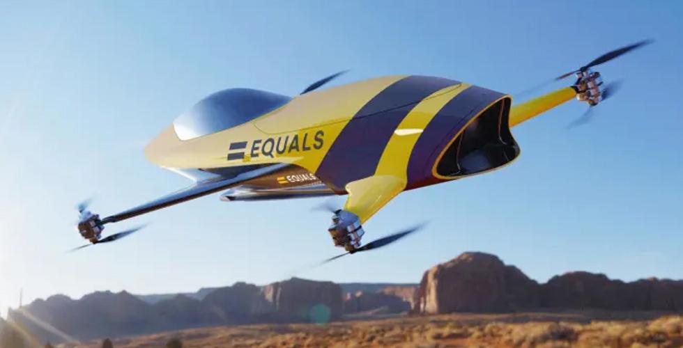 سباق Flying Car عالي السرعة في عام 2020