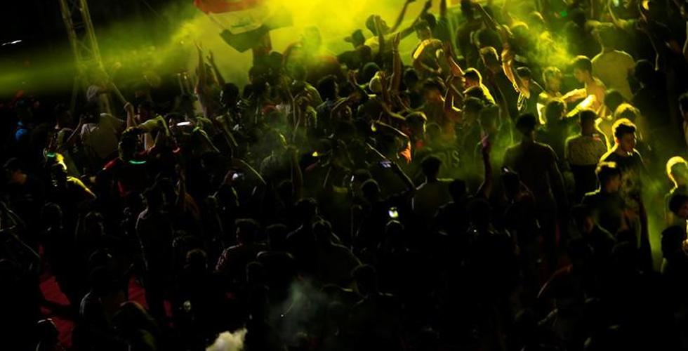 بغداد تغني وترقص في احتفالية خارج المألوف