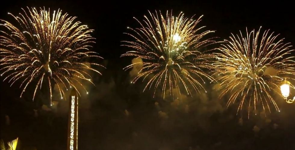 ليلُ أبوظبي يشتعل في اليوم الوطني