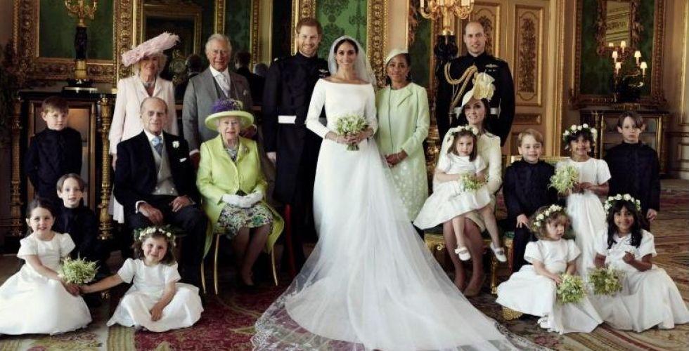 الصور الرسمية للزوجين الأمير هاري وميجان