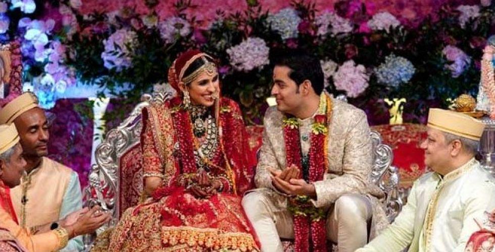 نجوم وأثرياء في زفاف  نجل الملياردير الهندي أمباني