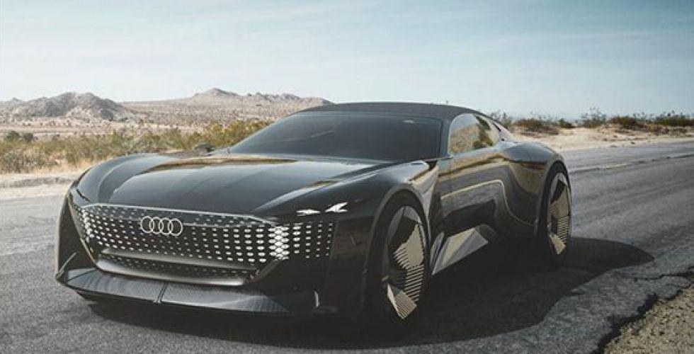 أودي سيارة تتخطى المستقبل