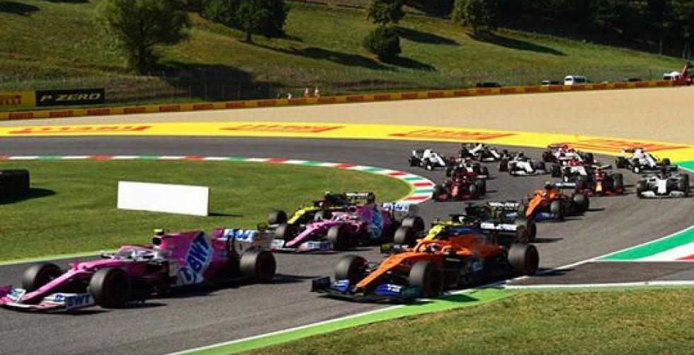 الفورمولا١ الايطالي توقف مرتين