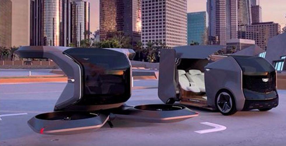 سيارة المستقبل فضائية بامتياز