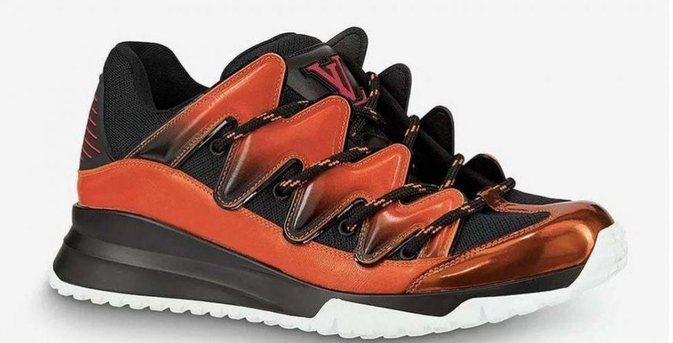 حذاء رياضيّ مميّز من لويس فويتون
