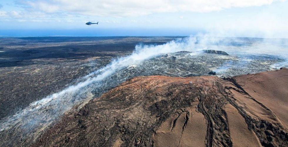 عجائب البركان في جزيرة هاواي