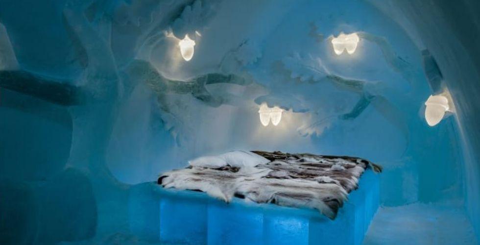أجواء شتويّة في فندق ICEHOTEL السّويديّ