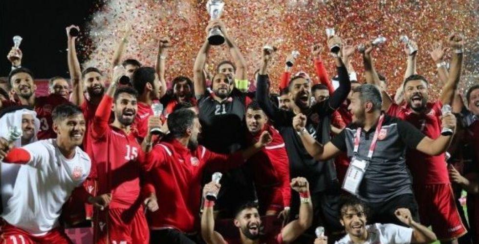 البحرين ترفع كأس الخليج