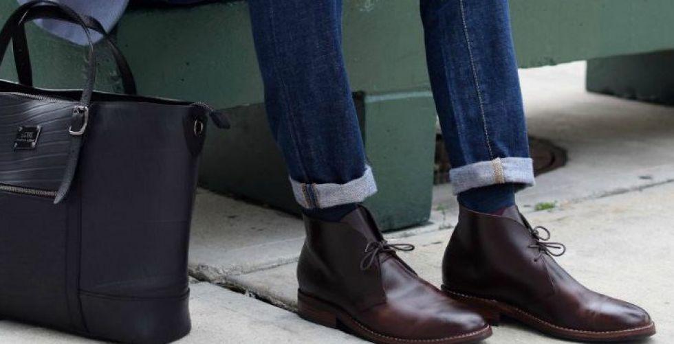 أحذية من جلد الغزال من شوكا