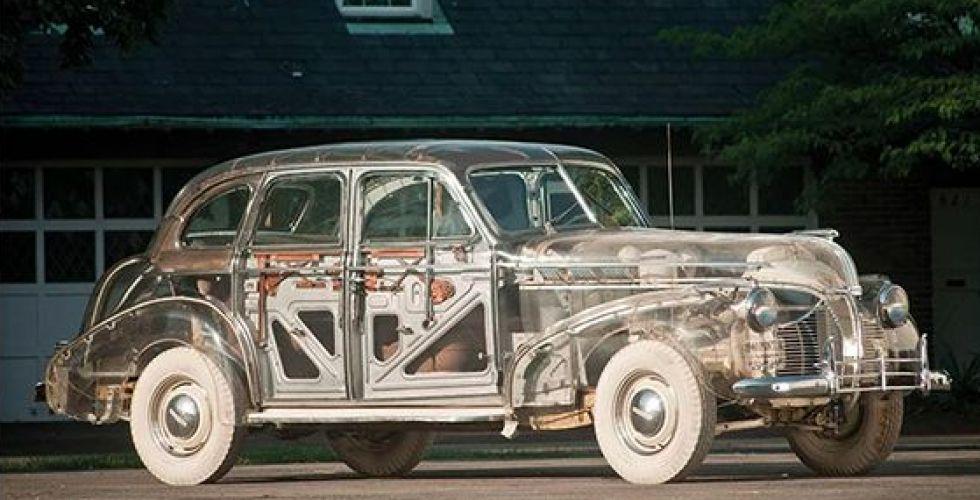 السيارة الشفافة في اطلالتها المستقبلية
