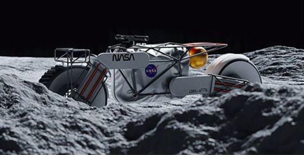 الدراجة القمرية للسياحة في الفضاء