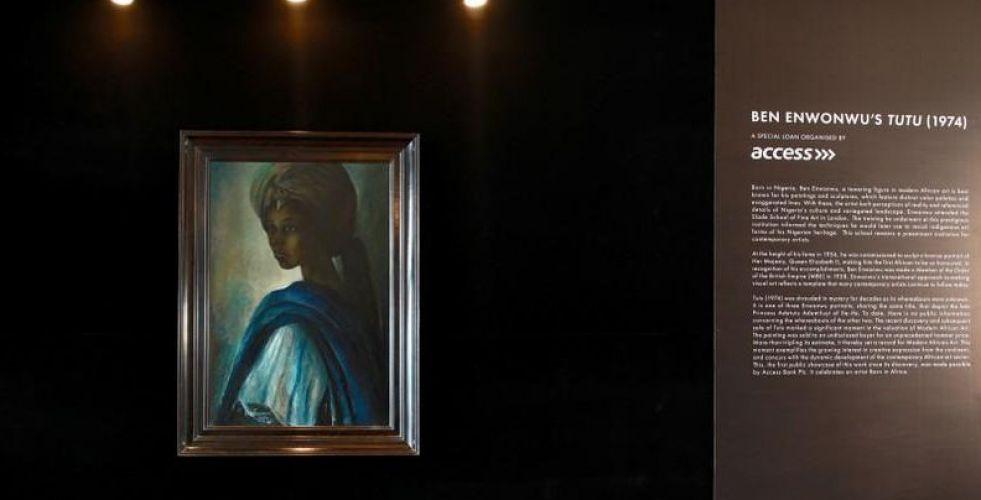موناليزا نيجيريا تظهر بعد اختفاء