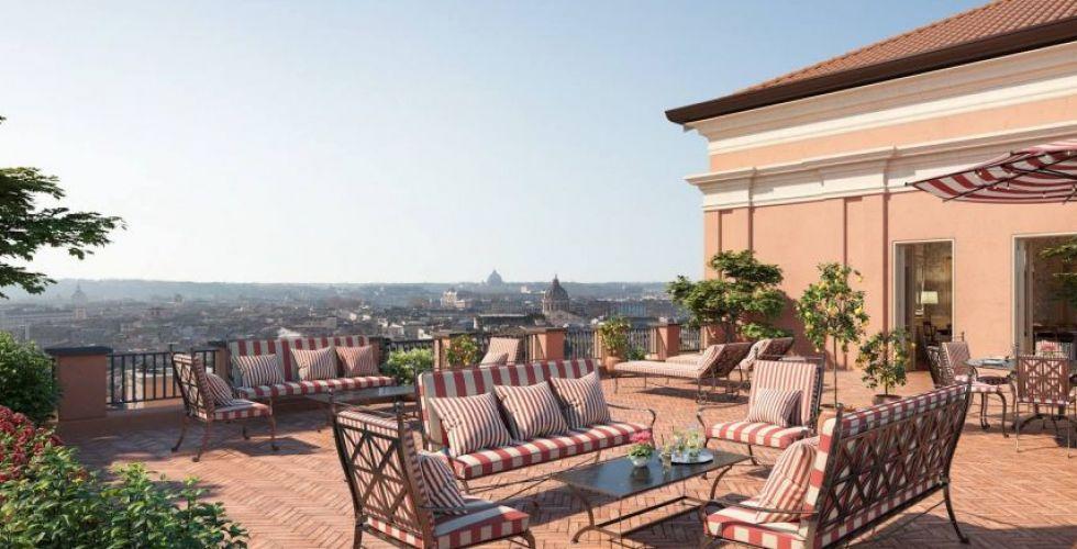 روكو فورتي تفتتح فندقًا في روما