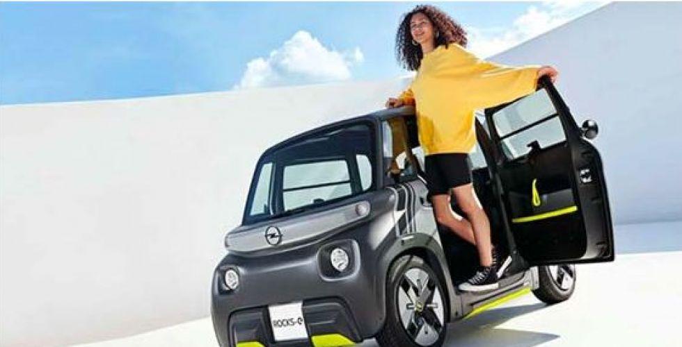 أوبل تخصّص سيارة كهربائية للفتيان