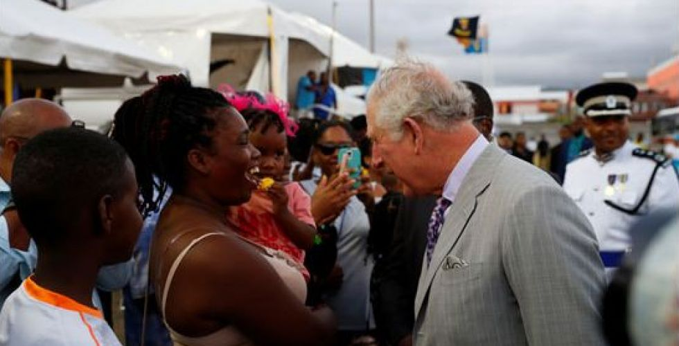 الأمير تشارلز يطرح الاقتصاد الأزرق لإنقاذ جزر الكاريبي