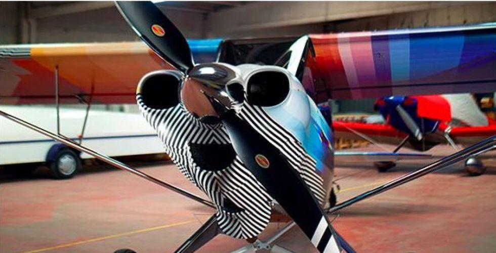 طائرة قوس القزح