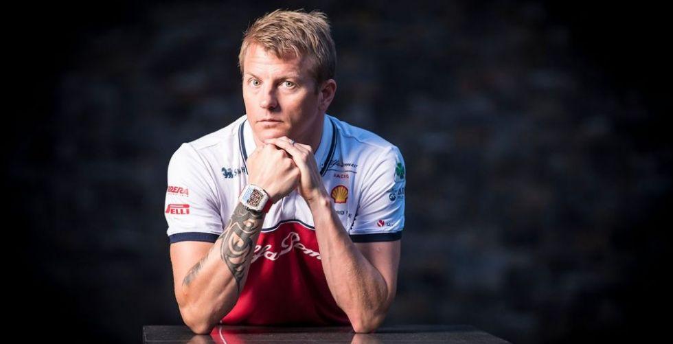 ساعة ريتشارد ميل سترافق Kimi Räikkönen في نجاحاته