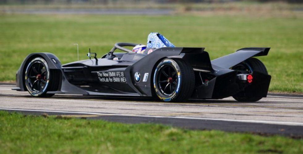 أوّل سيّارة سباق كهربائيّة من BMW