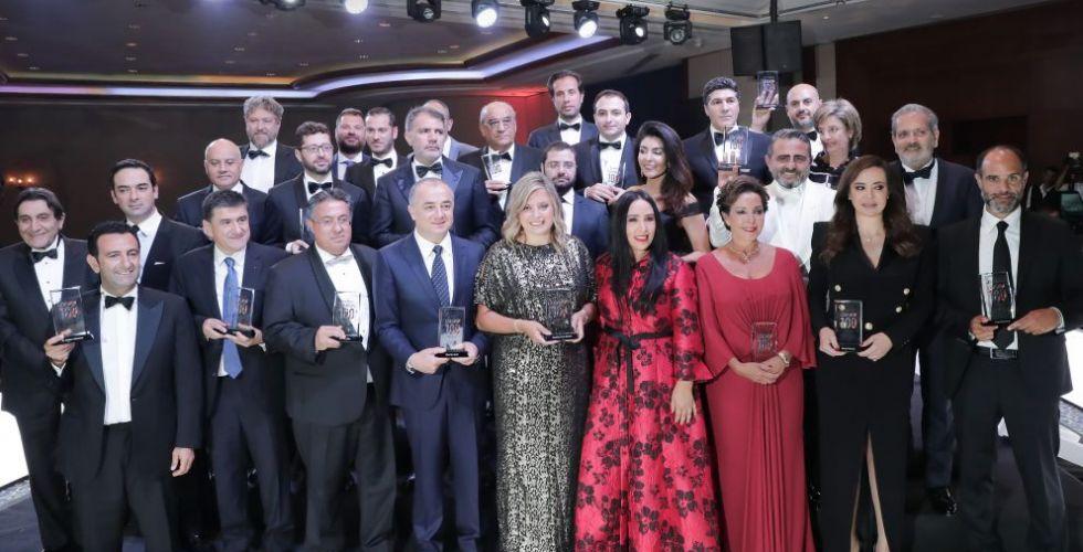 فوربس الشرق الأوسط تكرّم الشركات ورؤساء الأعمال في لبنان