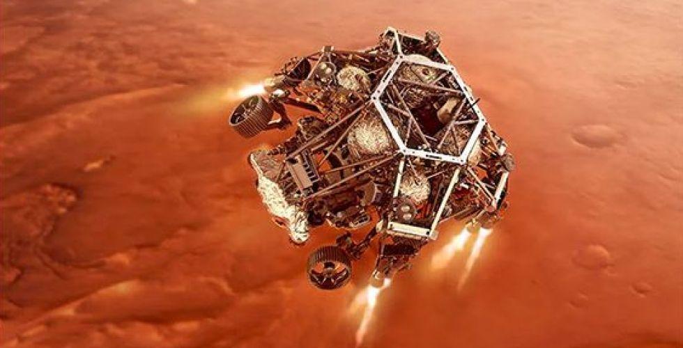 شاهد الحدث العلمي لهبوط مركبة الناسا على المريخ