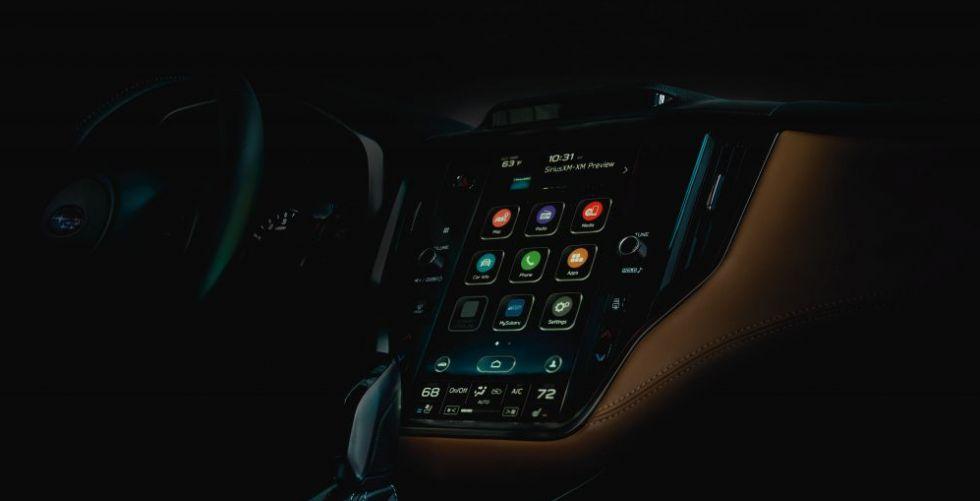 سوبارو تُطلق Legacy  بشاشة لمسٍ متطوّرة