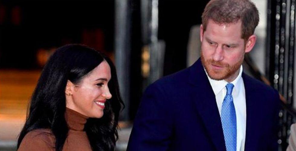 الأمير هاري الخائف على زوجته ميغان