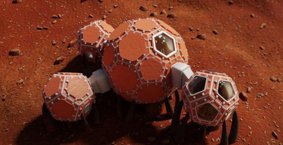 ناسا وأفضل تصاميم المنازل على المريخ