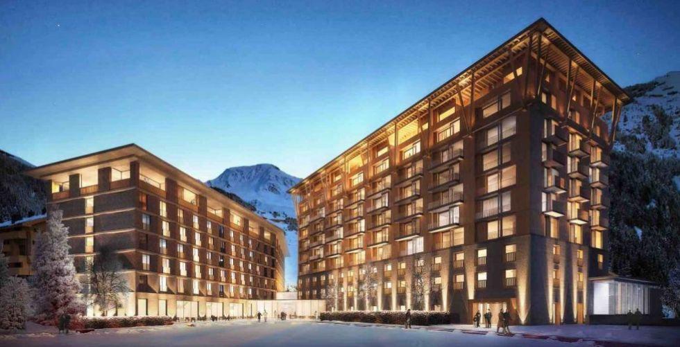 فندق Radisson Blu Reussen في سويسرا