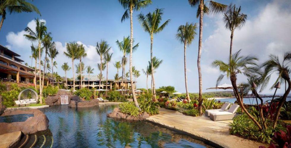 فورسيزونز لاناي: سحر ضيافة هاواي