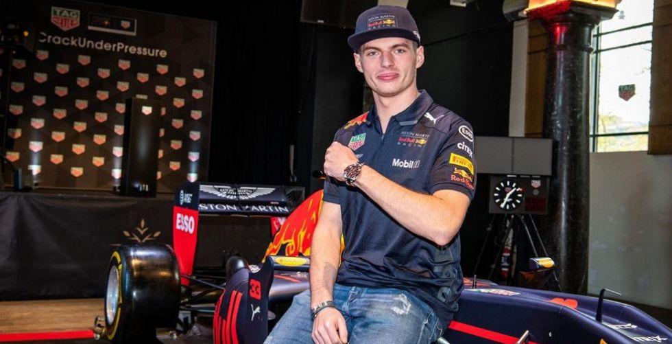 TAG Heuer و Max Verstappen وساعة ثالثهما