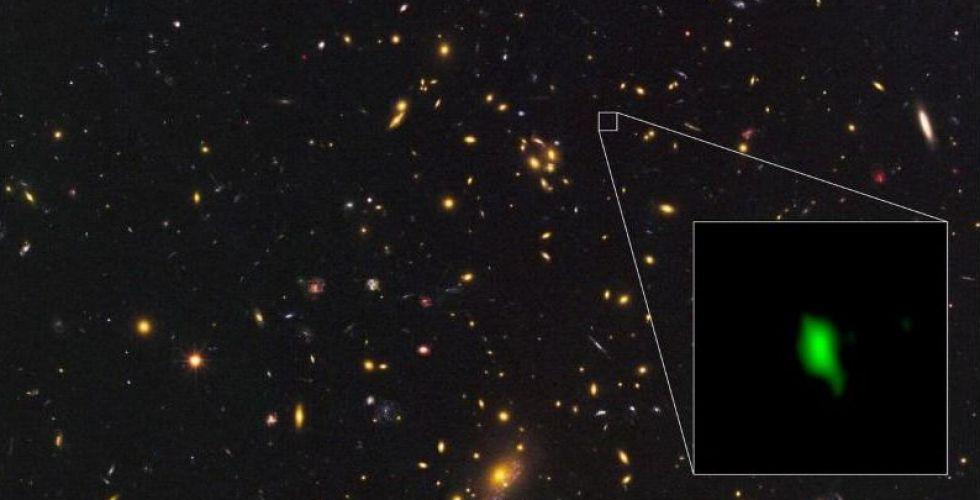 إشارة أوكسيجين في المجرة توحي بنشأة الكون