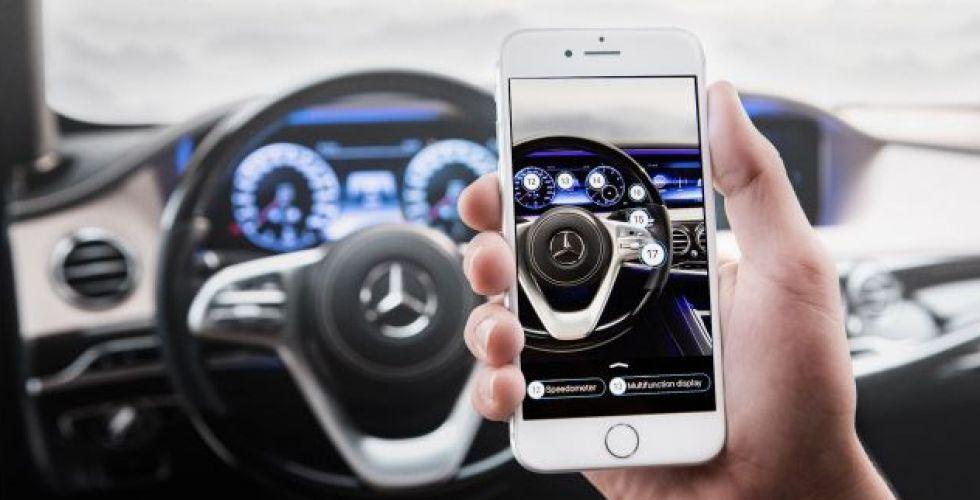 مرسيدس بنز تقدّم تطبيق Ask Mercedes