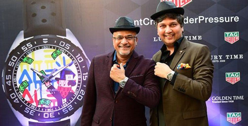 إطلاق ساعة Alec Monopoly في أرقى مدن الهند