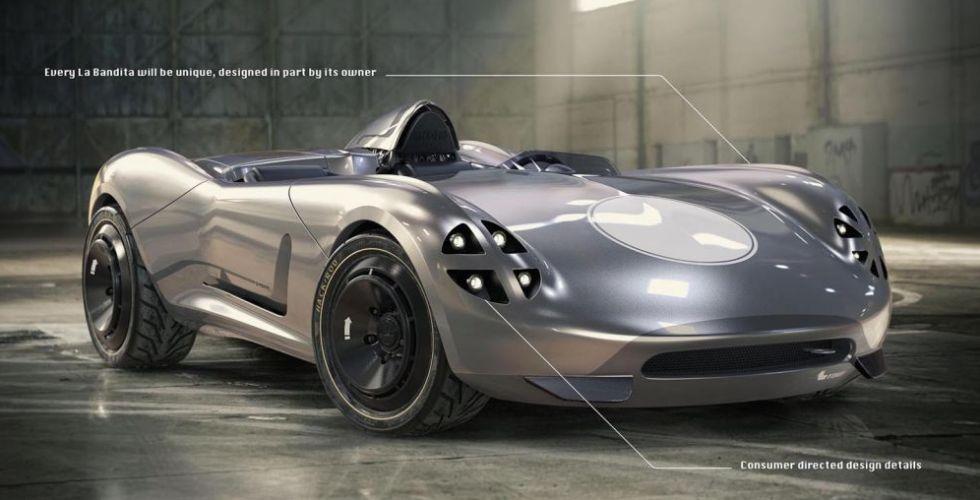 سيارة سبيدستر مبتكرة من هاكرود