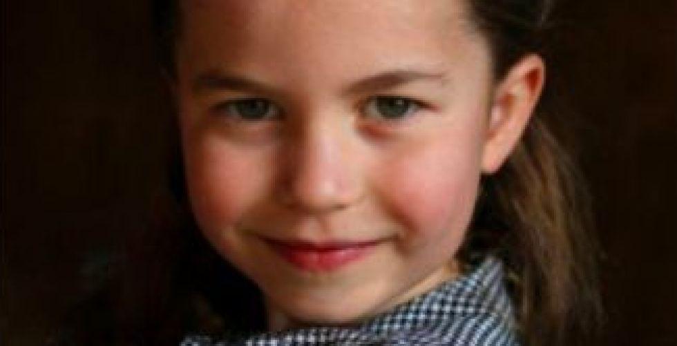 الأميرة شارلوت في عيد ميلادها الخامس
