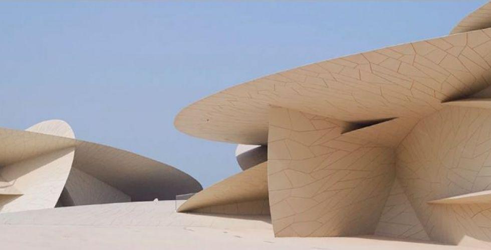 المتحف الوطني لجان نوفيل في قطر بعدسة جوليان لانو