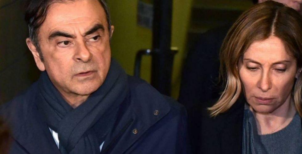 زوجة كارلوس غصن تطلب من فرنسا مساعدته