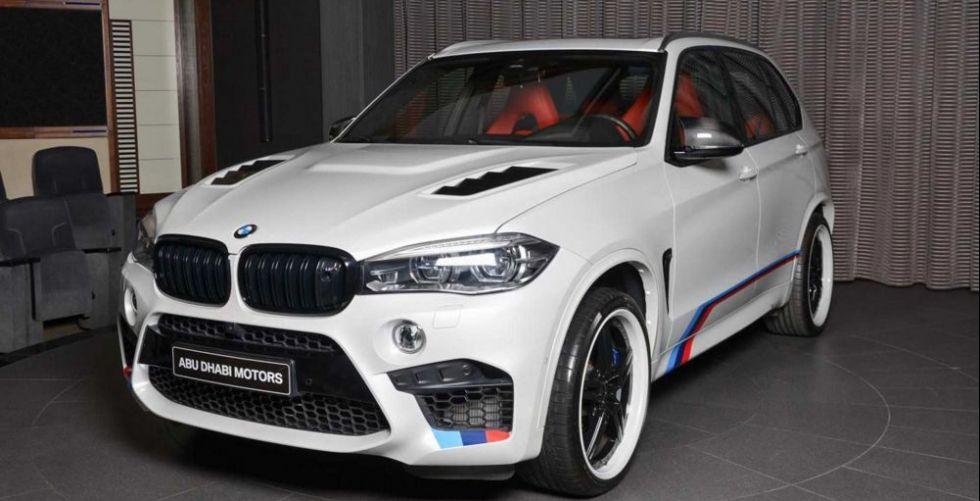 BMW X5 M على طريقة أبو ظبي