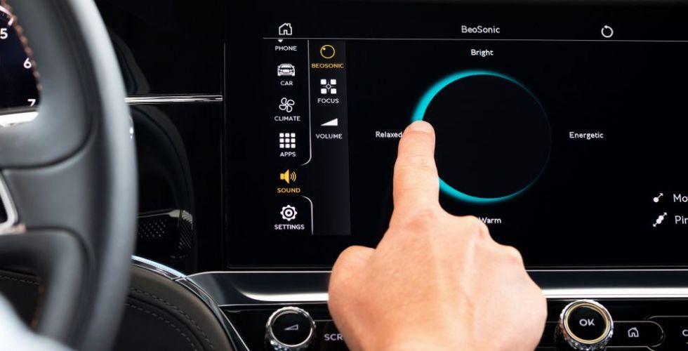 Bentley تقدّم بالتعاون مع Bang & Olufsen ابتكاراً جديداً