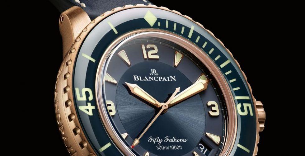رابط مميز يجمع Blancpain  بقاع البحر